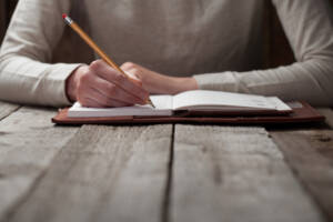 The one thing writing teaches you about life.